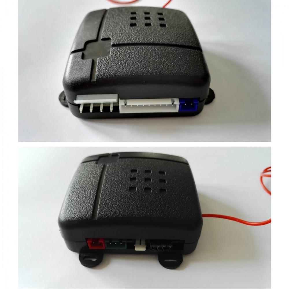 Car Vehicle Burglar Protective System Alarm Security + 2 Remote Control